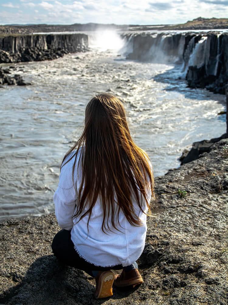 Wodospad Selfoss, Północna Islandia