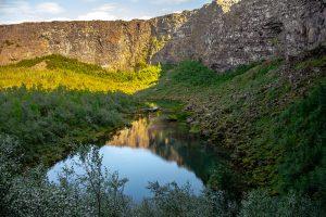 Kanion Asbyrgi, Północna Islandia