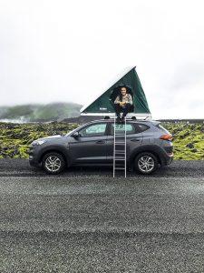 Islandia - samochód