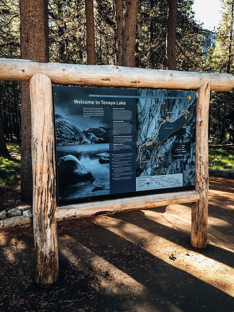 Pierwszy punkt w Yosemite