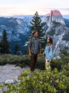 Magiczny zachód słońca, Yosemite