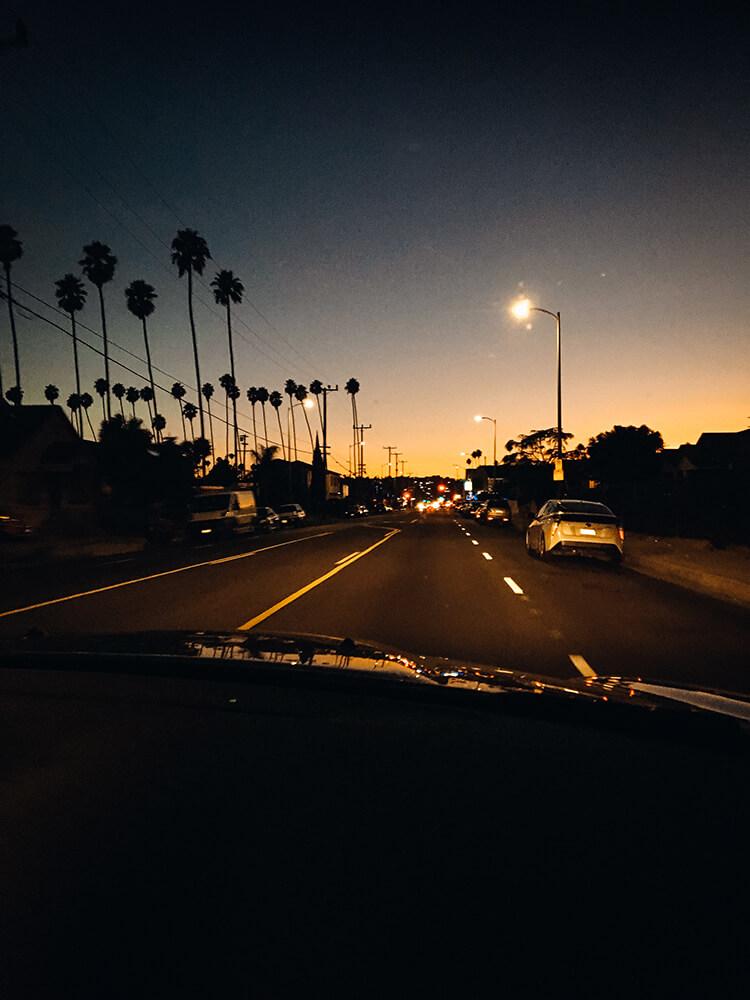 Los Angeles nocą