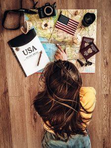 Planowanie wyjazdu do USA