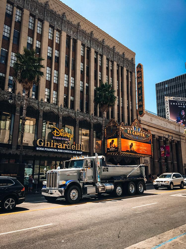 Aleja Gwiazd, Los Angeles