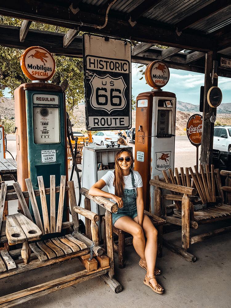 Sklep Hackberry, Route 66