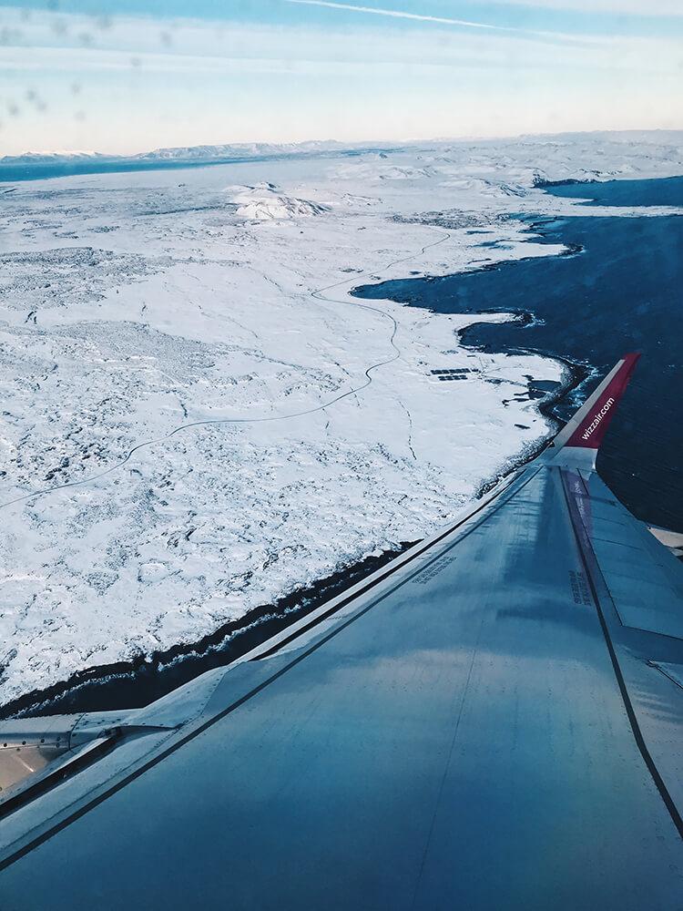 Islandia - z lotu ptaka