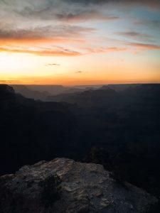 Zachód słońca Grand Canyon
