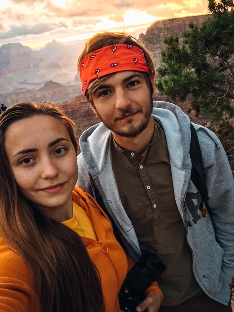 Wschód słońca Grand Canyon