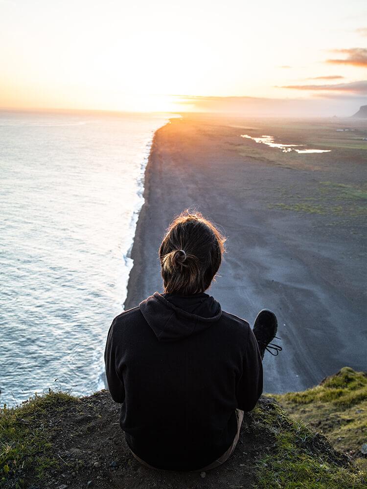 Półwysep Dyrhólaey, Południowa Islandia