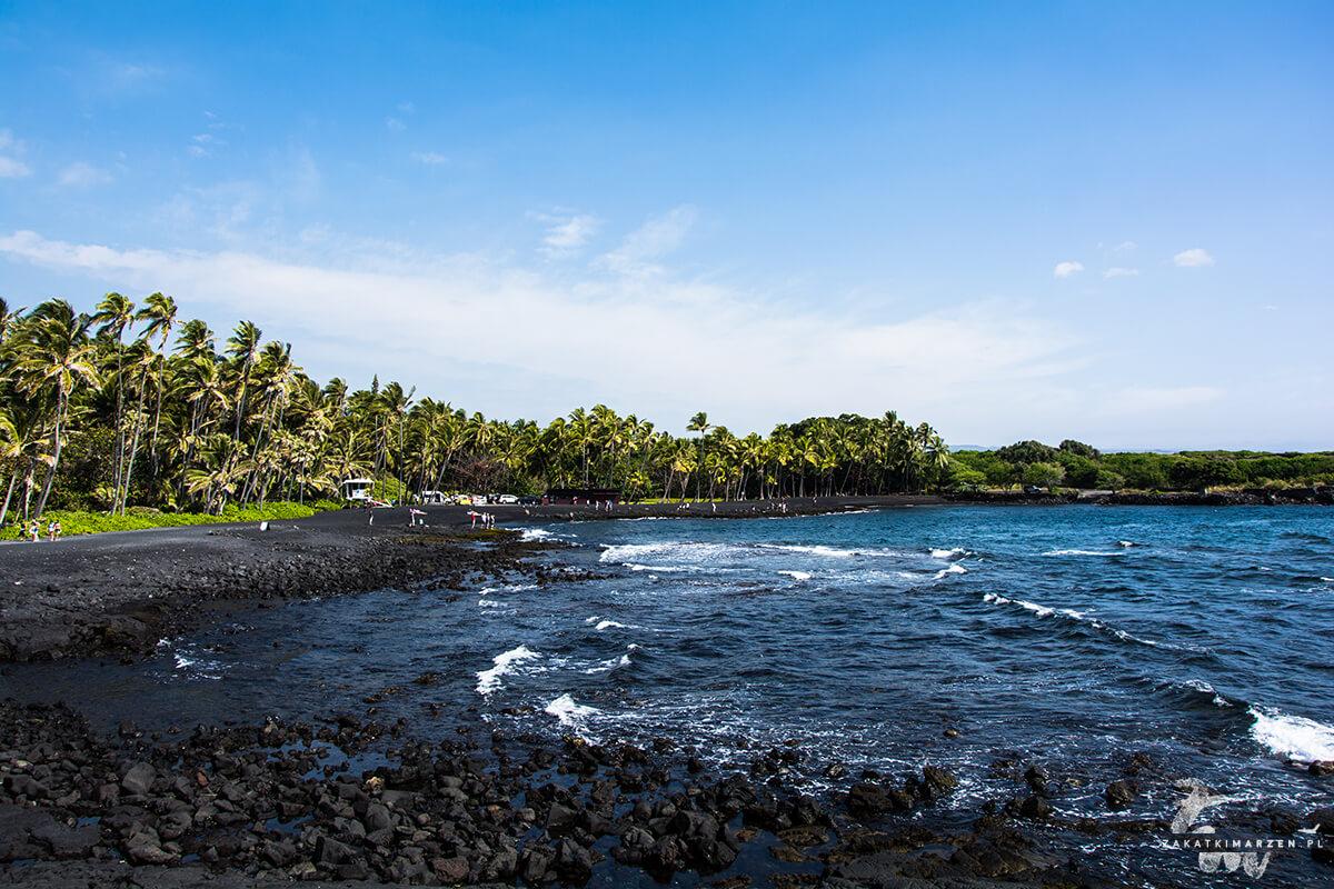 Plaża Punaluu - Big Island