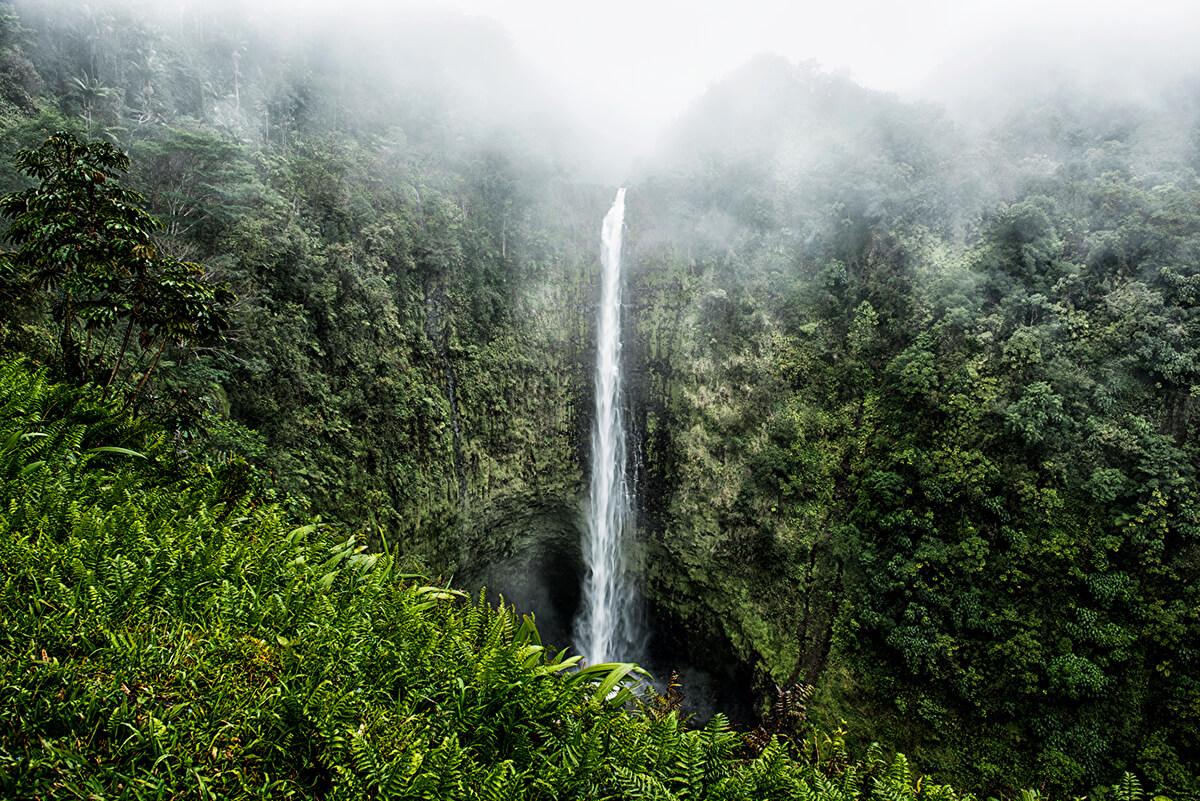 Wodospad Akaka - Big Island