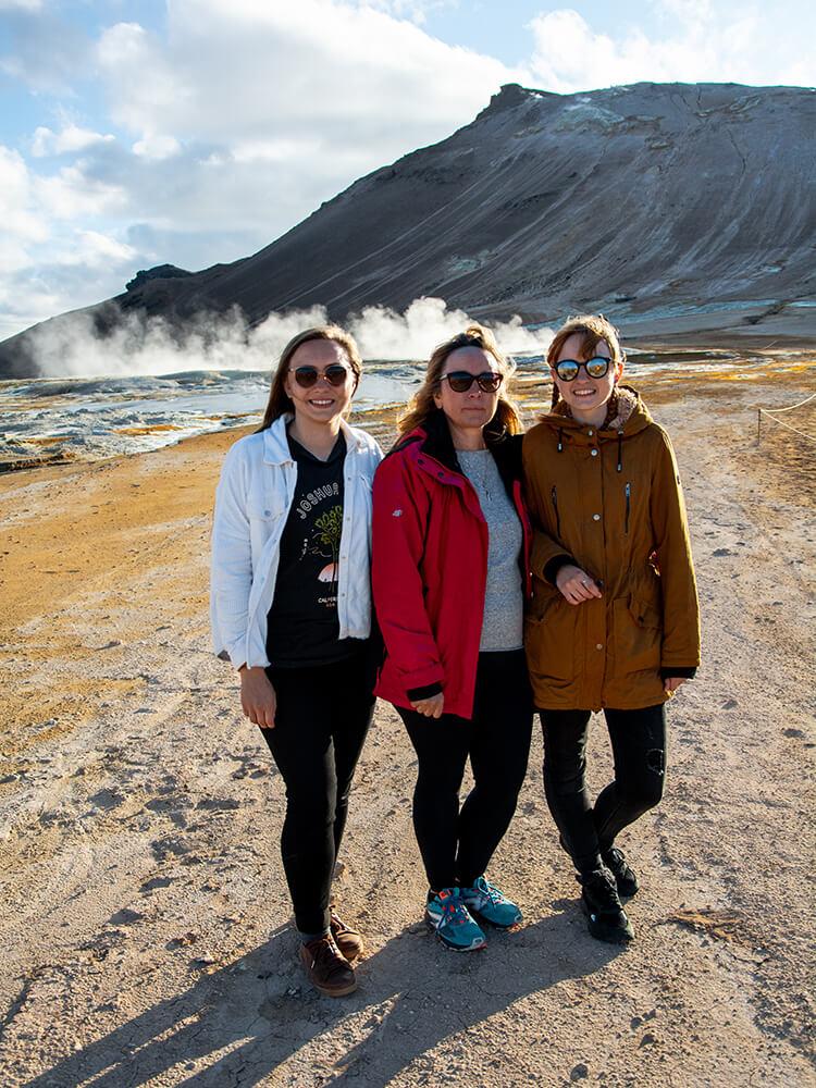 Hverir, Północna Islandia