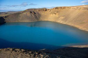Krater Viti, Północna Islandia
