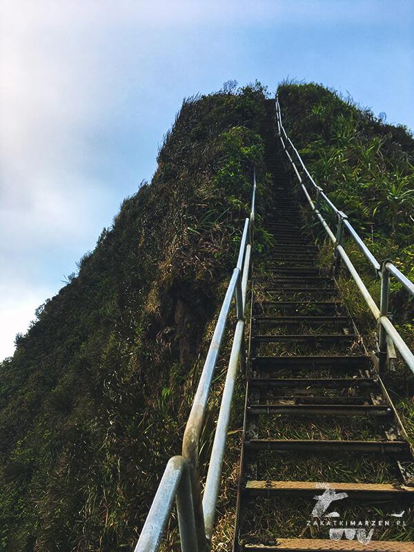 Haʻikū Stairs - Schody do Nieba